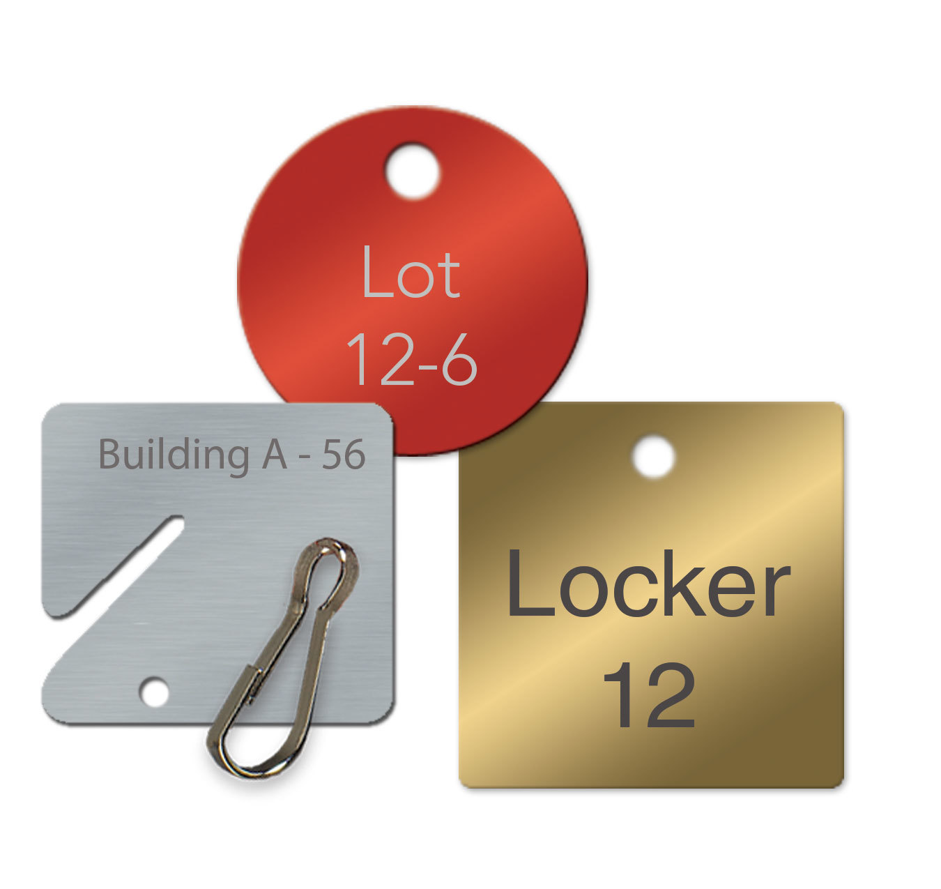 Metal Key Tags